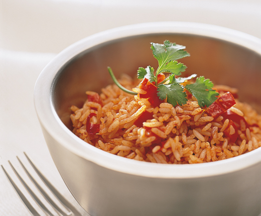 Arroz rojo (riz rouge mexicain)
