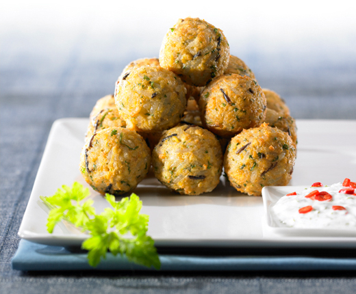 Falafel aus Wild Rice Mix