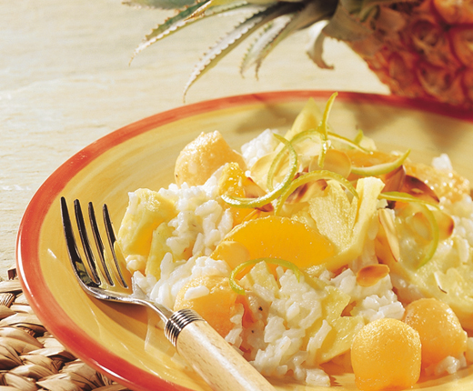 Salade de riz aux fruits USA